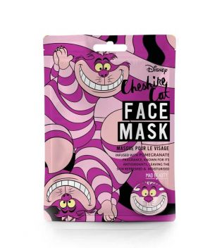 Mad Beauty - Mascarilla Facial Disney - Gato Cheshire