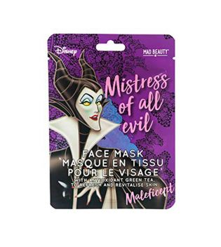 Mad Beauty - Mascarilla Facial de papel Disney - Maleficent