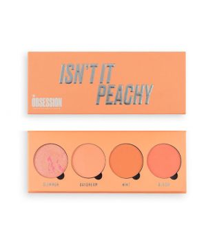 Makeup Obsession - Paleta de coloretes Isn't it Peachy