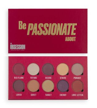 Makeup Obsession - Paleta de sombras Be Passionate About