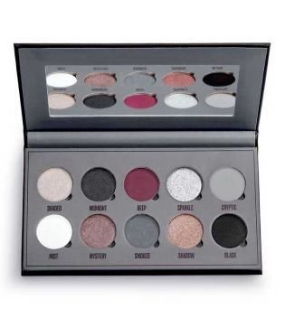Makeup Obsession - Paleta de sombras Black Is The New Black