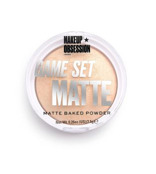 Makeup Obsession - Polvos compactos Game Set Matte - Formentera