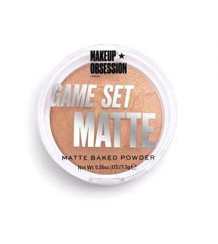 Makeup Obsession - Polvos compactos Game Set Matte - Kalahari