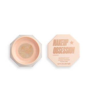 Makeup Obsession - Polvos sueltos iluminadores Shimmer Dust - Golden Honey