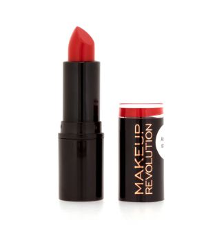 Makeup Revolution - Barra de labios Amazing Colección Atomic - Atomic Ruby