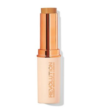 Makeup Revolution - Base de maquillaje en Stick Fast Base - F12