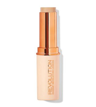 Makeup Revolution - Base de maquillaje en Stick Fast Base - F4