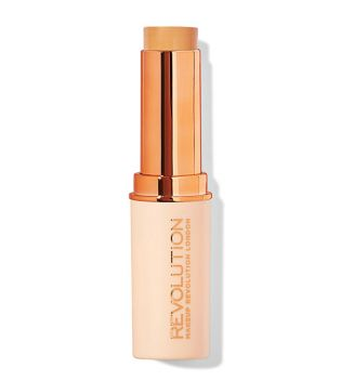 Makeup Revolution - Base de maquillaje en Stick Fast Base - F8