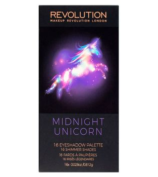 Makeup Revolution - Paleta de sombras - Midnight Unicorn
