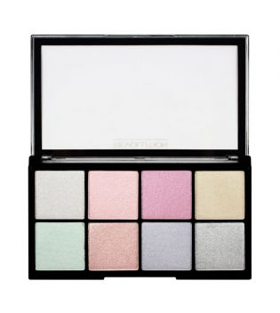 Makeup Revolution - Paleta Iluminadores Ultra Cool Glow
