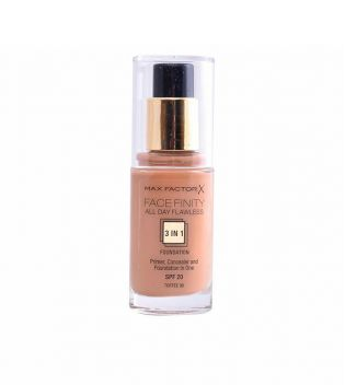 Max Factor - Base de maquillaje Face Finity 3 en 1 - 90: Toffee