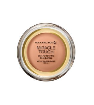 Max Factor - Base de maquillaje Miracle Touch - 080: Bronze