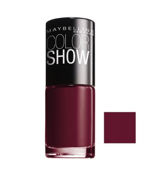 Maybelline - Esmalte de Uñas Color Show - 352: Downtown Red