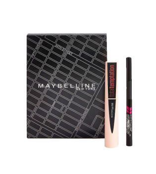 Maybelline - Kit Máscara + Eyeliner Temptation