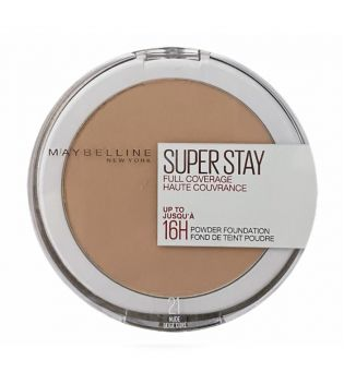 Maybelline - Polvos Compactos Matificantes Superstay 24H - 21: Nude