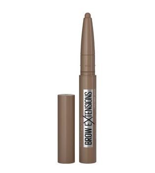 Maybelline - Pomada de cejas en stick Brow Extensions - 02: Soft Brown
