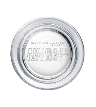 Maybelline - Sombra de Ojos Color Tattoo 24H - 45: Infinite White