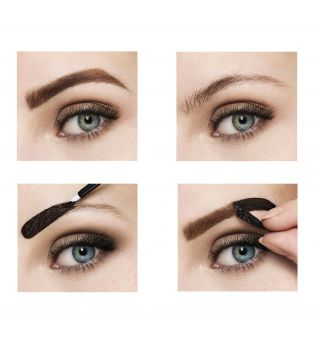 Maybelline - Tinte Semipermanente Peel Off Tattoo Brow - Castaño oscuro