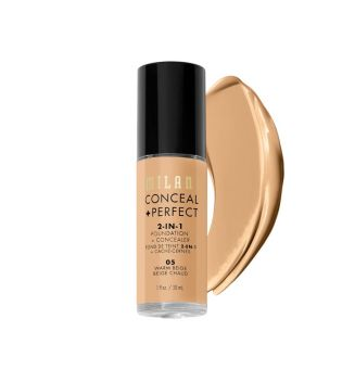 Milani - Base de maquillaje Conceal+Perfect 2-en-1 - 05: Warm Beige