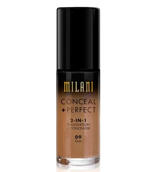 Milani - Base de maquillaje Conceal+Perfect 2-en-1 - 09: Tan