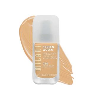 Milani - Base de maquillaje Screen Queen - 250: Natural Bisque