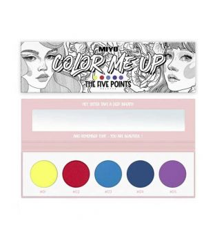 Miyo - Paleta de sombras Five Points - Color Me Up