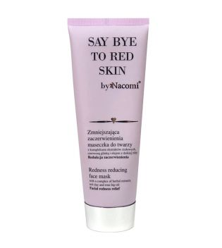 Nacomi - Mascarilla facial anti rojeces Say Bye to Red Skin