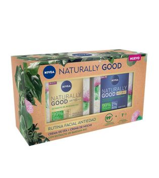 Nivea - *Naturally Good* - Rutina facial antiedad