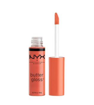 Nyx Professional Makeup - Brillo de labios Butter Gloss - BLG23: Peach Crisp