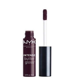 Nyx Professional Makeup - Brillo de labios Intense Butter Gloss - IBLG13: Blueberry Tart