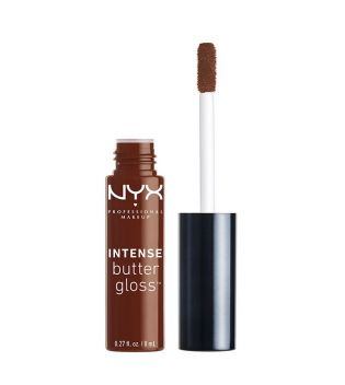 Nyx Professional Makeup - Brillo de labios Intense Butter Gloss - IBLG18: Rocky Road