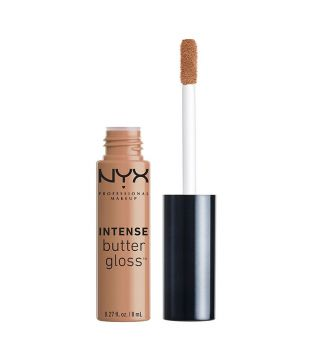 Nyx Professional Makeup - Brillo de labios Intense Butter Gloss - IBLG20: Cookie Butter