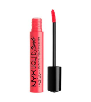 Nyx Professional Makeup - Labial Líquido Suede Cream Lipstick - LSCL02: Life's a Beach