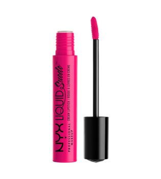 Nyx Professional Makeup - Labial Líquido Suede Cream Lipstick - LSCL08: Pink Lust