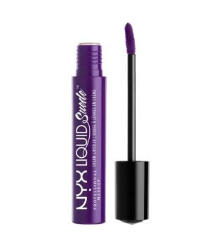Nyx Professional Makeup - Labial Líquido Suede Cream Lipstick - LSCL10: Amethyst