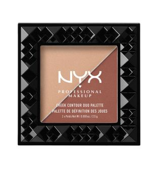 Nyx Professional Makeup - Paleta Cheek Contour Duo - CHCD06: Ginger & Pepper