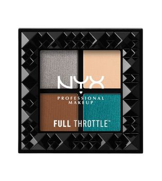 Nyx Professional Makeup - Paleta de Sombras de ojos Full Throttle - 06: Stunner