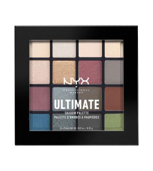 Nyx Professional Makeup - Paleta de sombras Ultimate - USP01: Smokey & Highlight