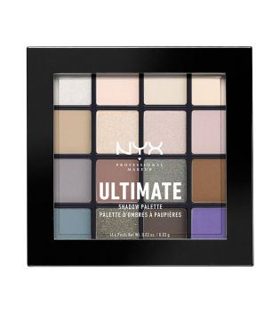 Nyx Professional Makeup - Paleta de sombras Ultimate - USP02: Cool Neutrals