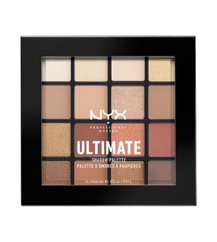 Nyx Professional Makeup - Paleta de sombras Ultimate - USP03: Warm Neutrals