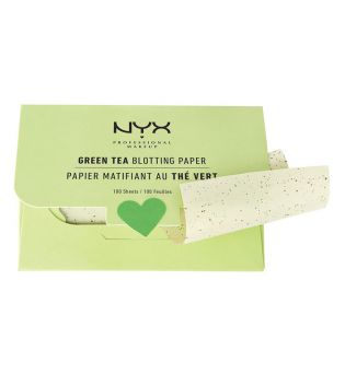 Nyx Professional Makeup - Papeles matificantes Green Tea - BPRGT