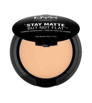 Nyx Professional Makeup - Polvo Compacto Stay Matte - SMP05: Soft Beige