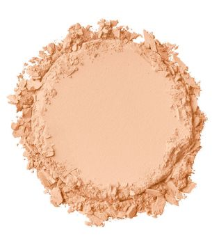 Nyx Professional Makeup - Polvo Compacto Stay Matte - SMP07: Warm Beige