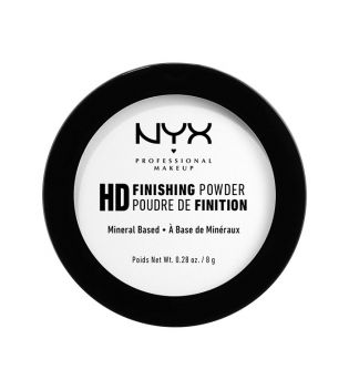 Nyx Professional Makeup - Polvos Compactos High Definition Finish Powder - HDFP01: Translucent