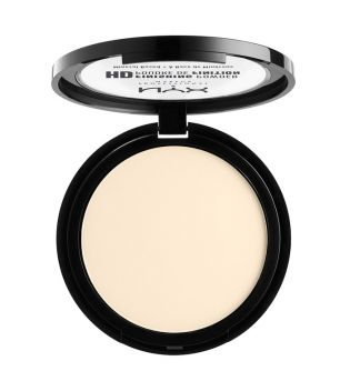 Nyx Professional Makeup - Polvos Compactos High Definition Finish Powder - HDFP02: Banana