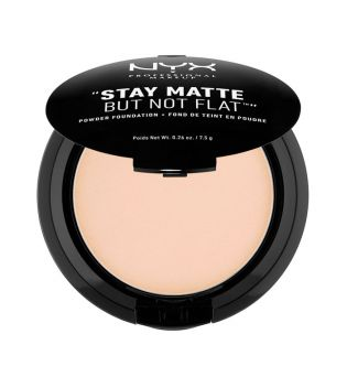 Nyx Professional Makeup - Polvos compactos Powder Foundation - SMP03: Natural