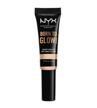 Nyx Professional Makeup - Corrector Born To Glow - Light Ivory