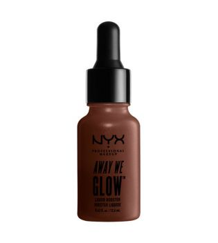 Nyx Professional Makeup - Iluminador líquido Booster Away We Glow - AWGLB04: Untamed