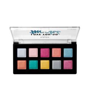 Nyx Professional Makeup - *Love You So Mochi* - Paleta de Sombras de ojos - LYSMSP01: Electric Pastels