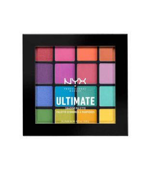 Nyx Professional Makeup - Paleta de sombras Ultimate Brights - Pride Edition